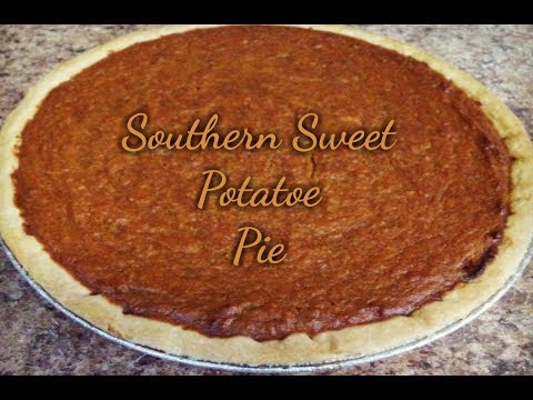 Southern Sweet Potato Pie Recipe | HOW TO MAKE A SWEET POTATO PIE | Kiwanna's Kitchen