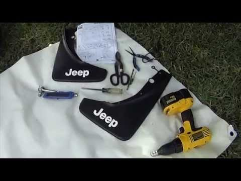 Jeep Grand Cherokee Splash Guard Installation YouTube