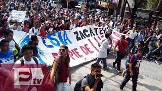 Estudiantes del IPN entregan a Osorio Chong pliego petitorio / #TodosSomosIPN