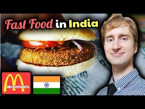 McDonald's India Review // BUCKWILD Burgers and Fast Food in Chennai, Tamil Nadu