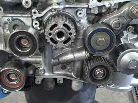 Subaru Owner Tips: Timing Belt Idlers  YouTube