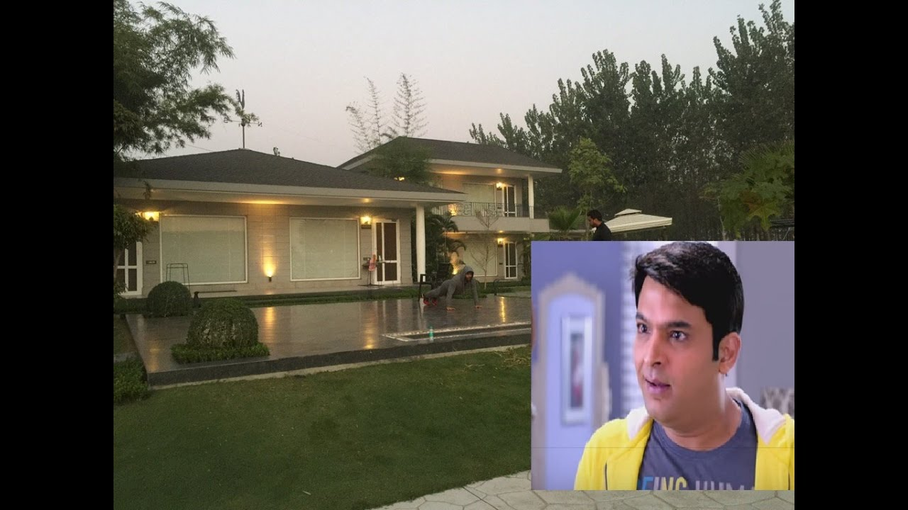 WOW Kapil Sharmas New House In Punjab YouTube
