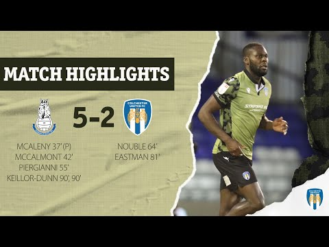 Oldham Colchester Goals And Highlights