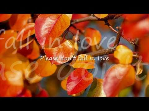 Please Don't Fall In Love by Cliff Richard...with Lyrics