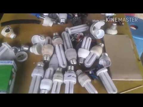 Cara  Mudah Memperbaiki Lampu Philip  Yg Sudah Mati..part 1