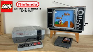 "Ist diese Nostalgie 230€ wert? | LEGO ""Nintendo Entertainment System"" + Super Mario 