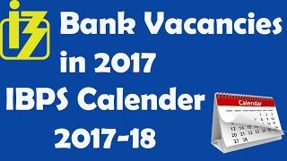 IBPS 2017 Exam Calendar - Check dates for PO SO Clerk RRB Exams 2017 Video