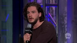 Kit Harington Discusses His Chemistry with Alicia Vikander