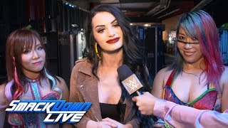 Paige explains why Asuka & Kairi Sane joined forces: SmackDown Exclusive, April 16, 2019