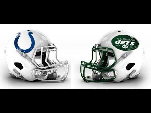 NFL madden 17 Universe mode COLTS v.s JETS week 1