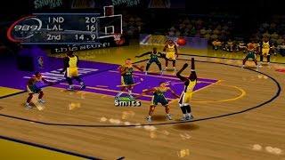 NBA ShootOut 2001 Gameplay Exhibition Mode (PlayStation)