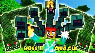 Khi Bạn Quá Vip Đi Đánh Boss Cùi ?? Minecraft Hexxit Siêu Khó #7