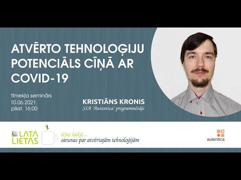 Pieejams semināra par atvērto tehnoloģiju potenciālu pret COVID-19  ieraksts un prezentācija