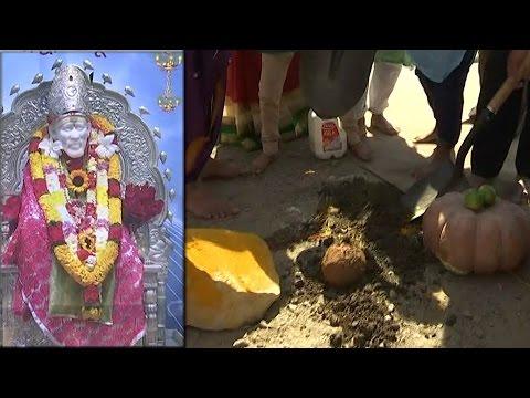 Bhoomi Pooja to Sri Shirdi Sai Baba Temple in North America