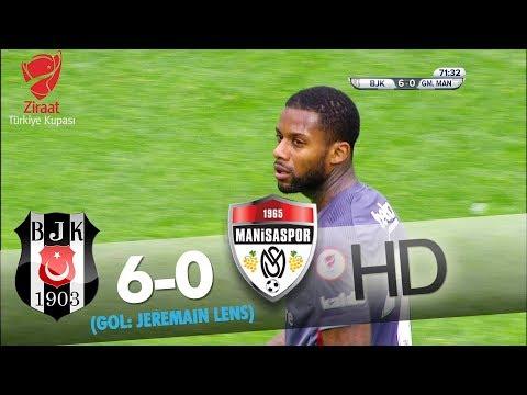 Beşiktaş: 6 - G. Medical Manisaspor: 0   Gol: Jeremain Lens