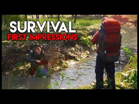 SCUM! First Impressions - *NEW* SUPER-REALISTIC Survival! (S