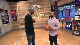 Area 21: Baron Davis Dunks, But How? | NBA on TNT