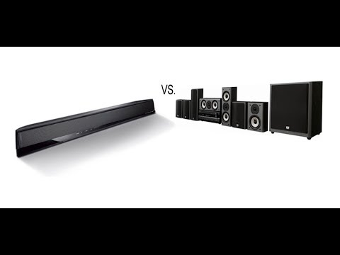 Have you replaced your 5.1 home theater with a sound bar?