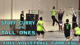 Stuff Curry vs Tall Ones - EVL #1, Match 1, Pool Play (Elevate Volleyball League 2018)