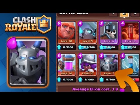 Clash Royale | NEW FAVORITE DECK POST UPDATE [MEGA MINION, no LEGENDARY Cards]