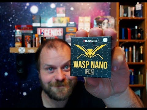 HARDWARE REVIEW - OUMIER WASP NANO NORMAL/BF RDA NICE LITTLE FLAVOUR AND CLOUD CHUCKER