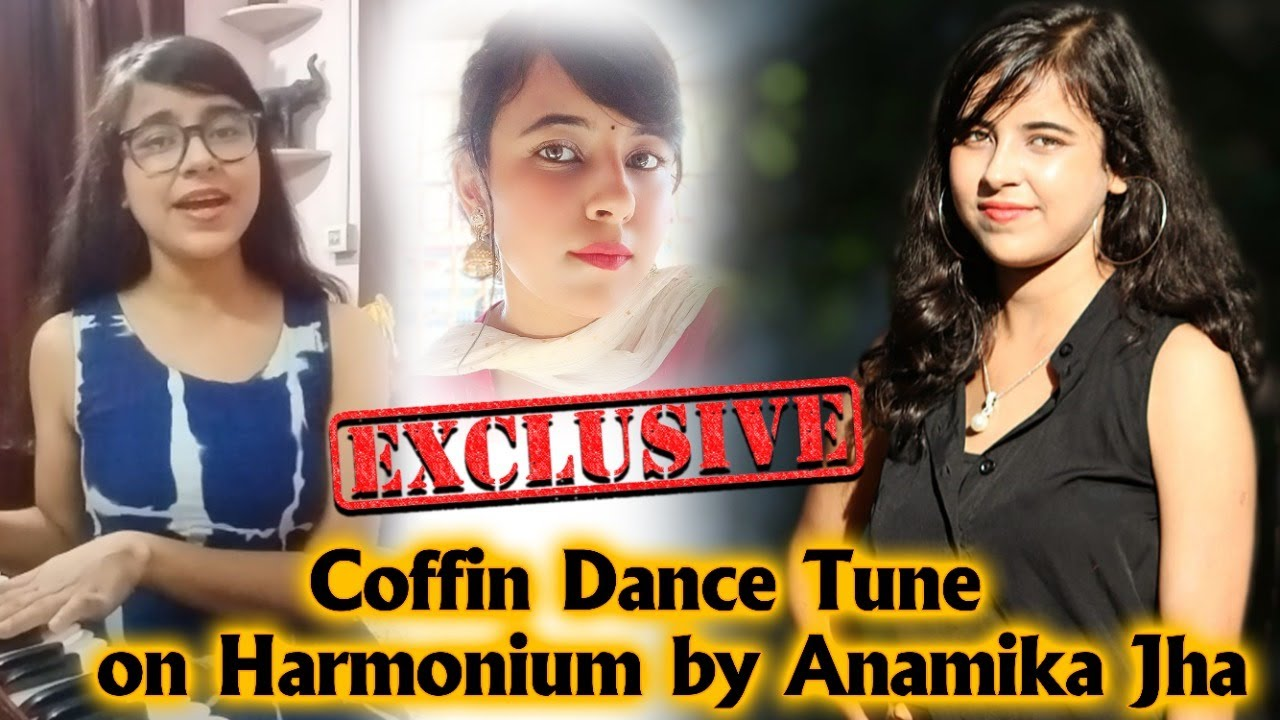 Coffin Dance Tune on Harmonium by Anamika Jha