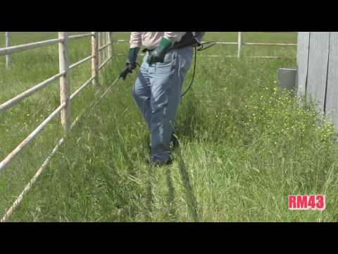RM43 Total Vegetation Control - YouTube
