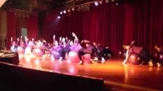 festival de danza 2012 Colegio Santa Clara 7