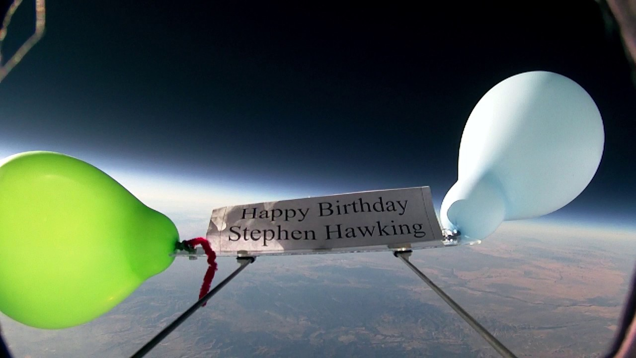 Stephen Hawking 75th Birthday Tribute