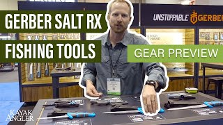 Gerber Launches Salt RX Fishing Tools At ICAST 2018