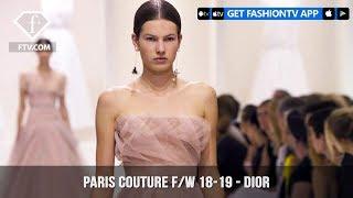 Dior Purity Paris Haute Couture Fall/Winter 2018-19 Collection | FashionTV | FTV
