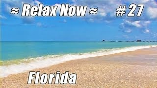 NAPLES BEACH & PIER Florida #27 Beaches Ocean Wave Gulf Coast Relaxing nature Waves sounds video