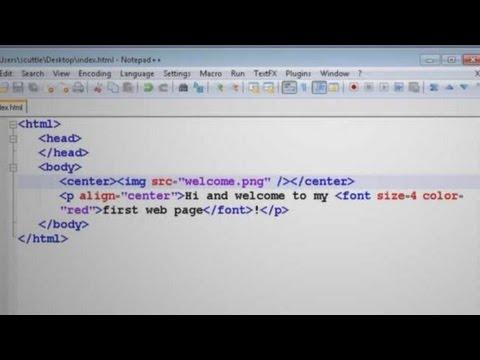 HTML Tutorial: Page Formatting