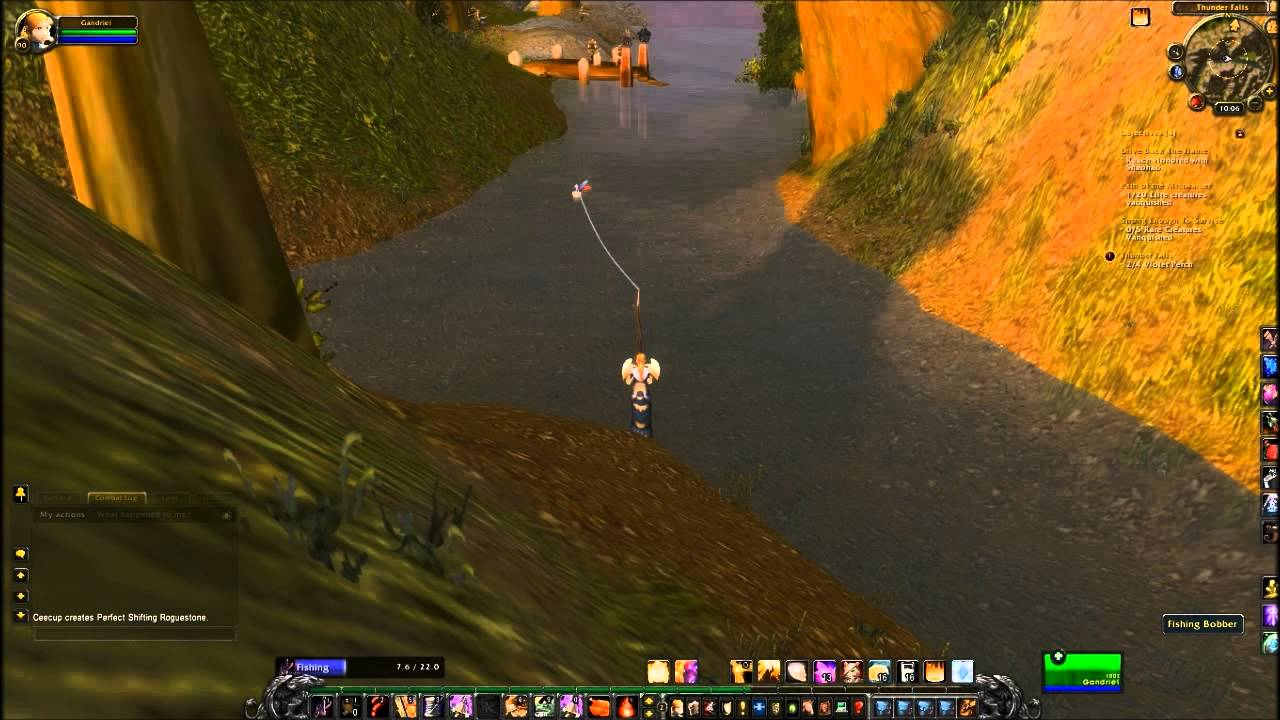 world of warcraft how to get to thunder falls