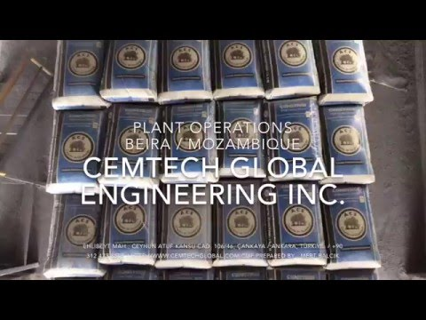 Beira / Mozambique - Cement Grinding Plant / Cemtech Global Engineering Inc.