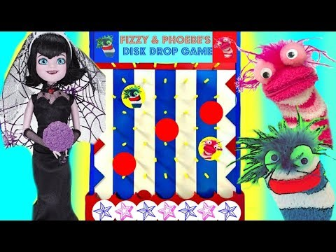 Mavis Plays Fizzy and Phoebe's Disk Drop Game |