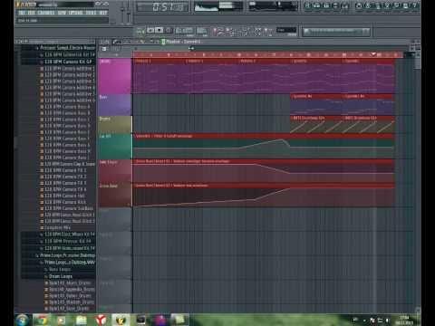 Deadmau5 - Brazil chord + FLP project