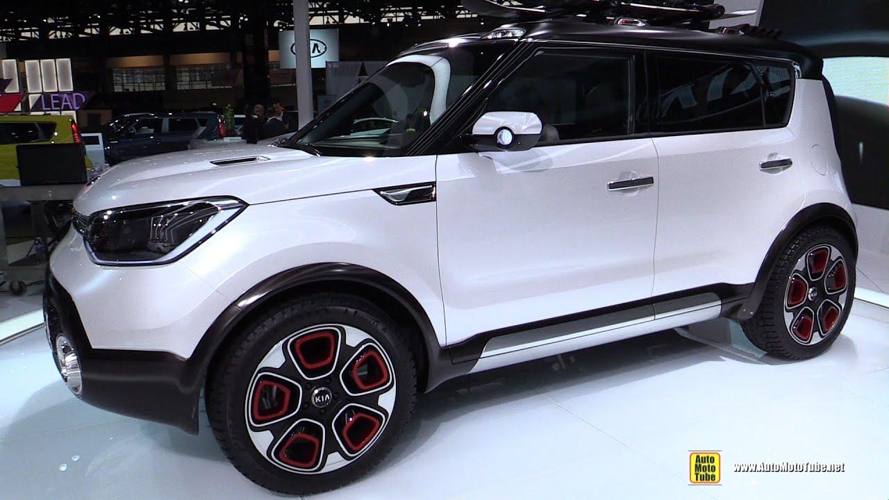 Kia Trail Ster Concept Exterior Walkaround 2015 Chicago Auto