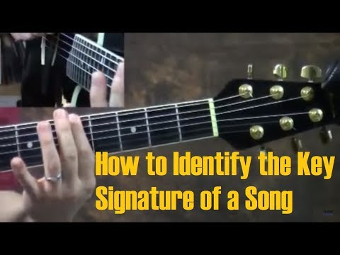 How to Identify the Key Signature of a Song - Part 1