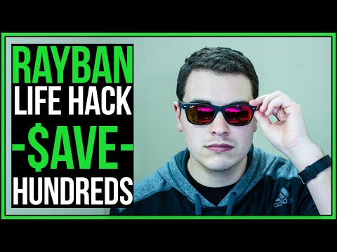 Ray Ban 2132 New Wayfarer Hack - SAVE HUNDREDS