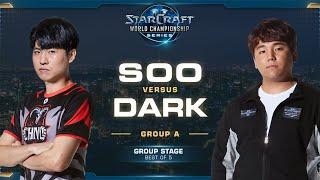 soO vs Dark ZvZ - Group A Winners - 2019 WCS Global Finals - StarCraft II