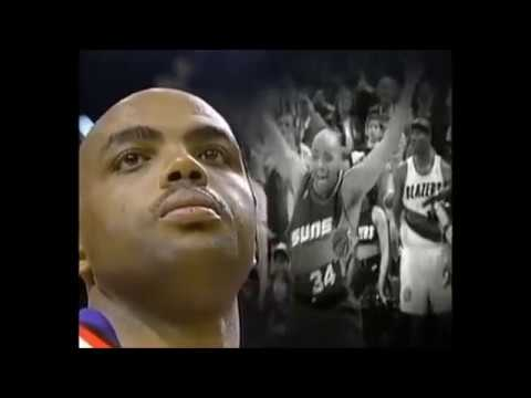 NBA on NBC Intro - 1993 NBA Playoffs - Charles Barkley Suns vs. Supersonics Game 6