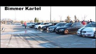 Bimmer kartel crashing Amg meet! Street racing ?!