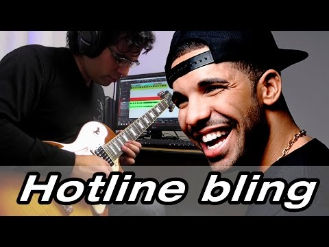 Drake - Hotline Bling Electric Guitar Cover (Instrumental)
