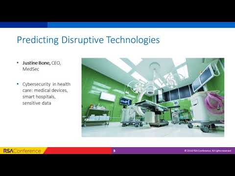 Virtual Session: Predicting Disruptive Technologies
