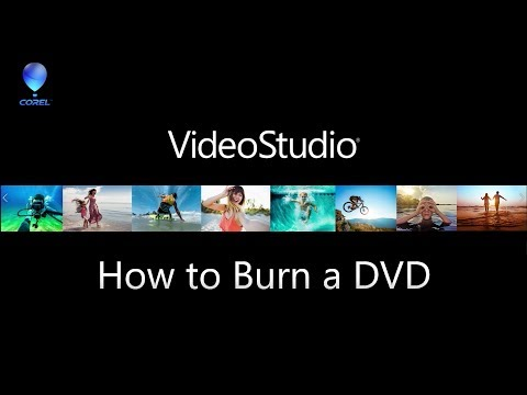 VideoStudio - Burn DVD with menus and chapters