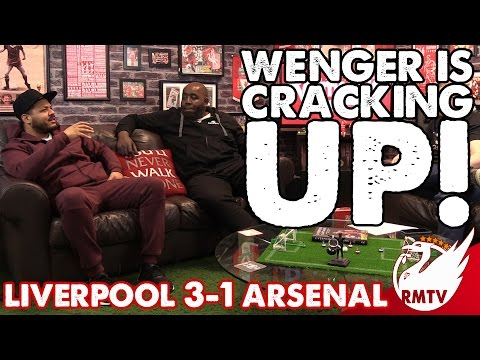 Wenger is cracking up! | Liverpool 3-1 Arsenal |  Robbie and Troopz Match Reaction | Arsenal Fan TV