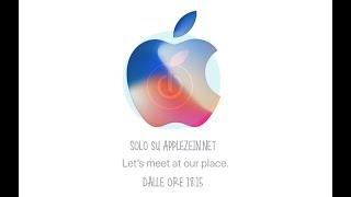 DIRETTA presentazione del nuovo iPhone X OGGI ore 18:15
