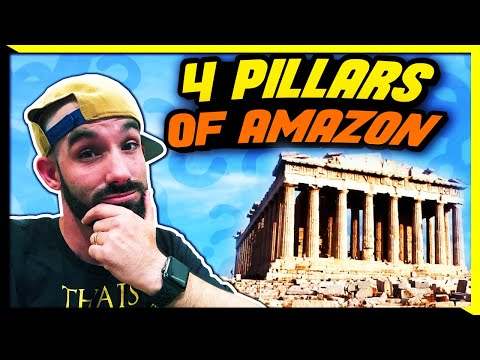 The 4 Pillars of Amazon FBA – How to Make a Fulltime Income Selling Products