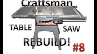 Table Saw Rebuild:  Done!
